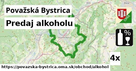 predaj alkoholu v Považská Bystrica