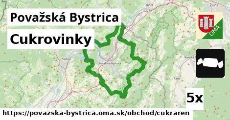 ilustračný obrázok k Cukrovinky, Považská Bystrica