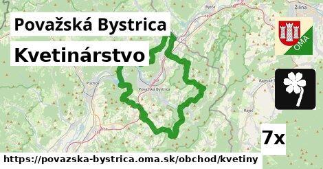 kvetinárstvo v Považská Bystrica