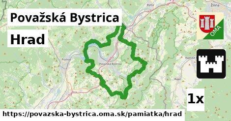 Hrad, Považská Bystrica