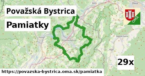 pamiatky v Považská Bystrica