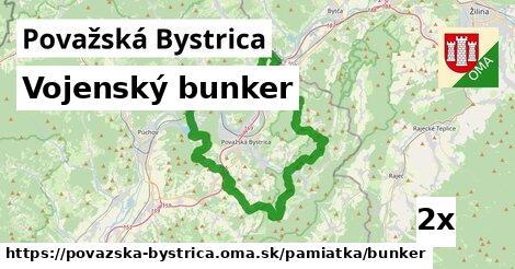 ilustračný obrázok k Vojenský bunker, Považská Bystrica