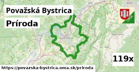 príroda v Považská Bystrica