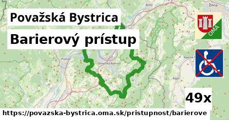 barierový prístup v Považská Bystrica