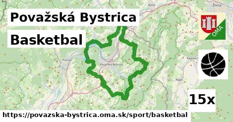 ilustračný obrázok k Basketbal, Považská Bystrica