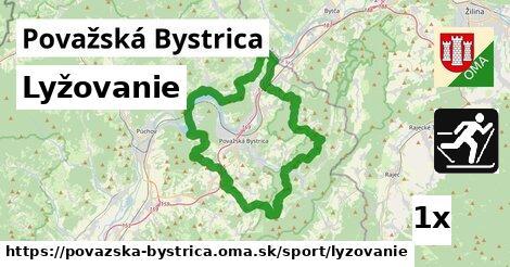 ilustračný obrázok k Lyžovanie, Považská Bystrica