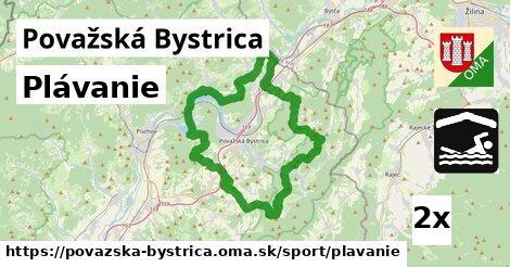ilustračný obrázok k Plávanie, Považská Bystrica