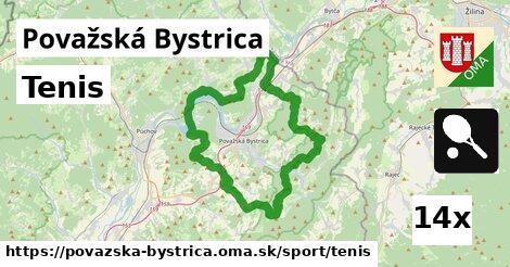 ilustračný obrázok k Tenis, Považská Bystrica