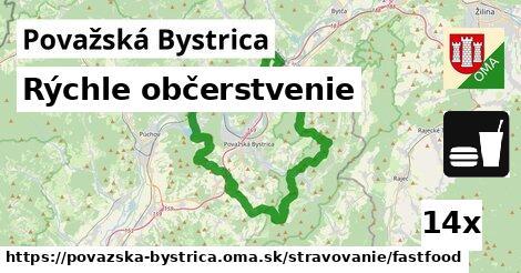 ilustračný obrázok k Rýchle občerstvenie, Považská Bystrica