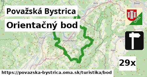 ilustračný obrázok k Orientačný bod, Považská Bystrica