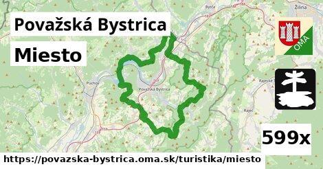 miesto v Považská Bystrica