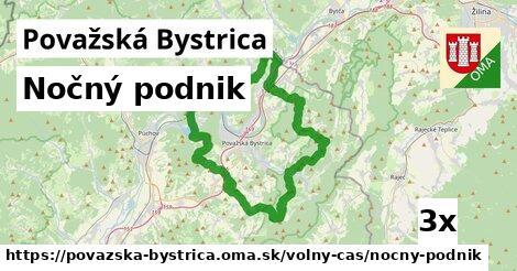 ilustračný obrázok k Nočný podnik, Považská Bystrica