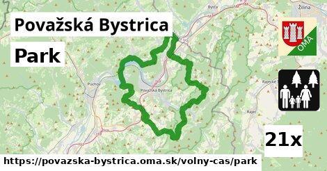 park v Považská Bystrica