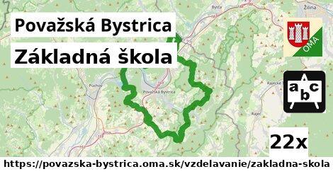 ilustračný obrázok k Základná škola, Považská Bystrica