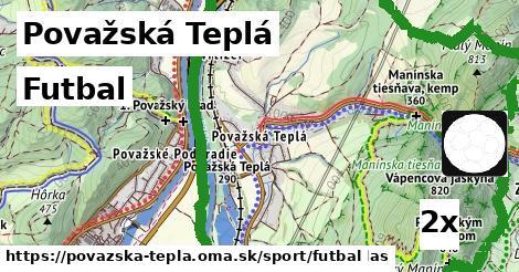 futbal v Považská Teplá