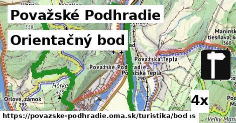 orientačný bod v Považské Podhradie