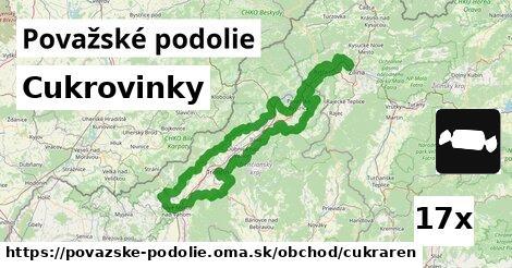ilustračný obrázok k Cukrovinky, Považské podolie