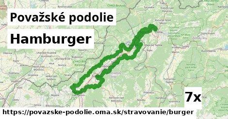 ilustračný obrázok k Hamburger, Považské podolie