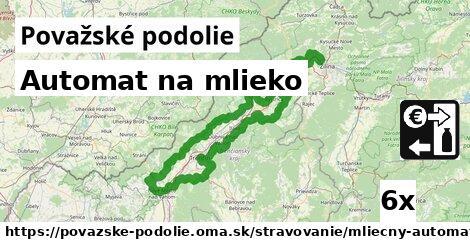 ilustračný obrázok k Automat na mlieko, Považské podolie