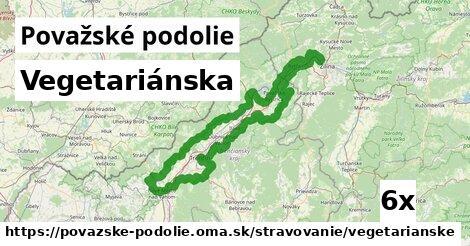 ilustračný obrázok k Vegetariánska, Považské podolie