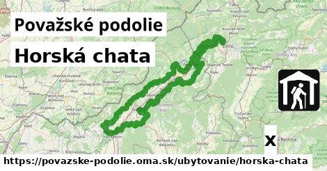 ilustračný obrázok k Horská chata, Považské podolie