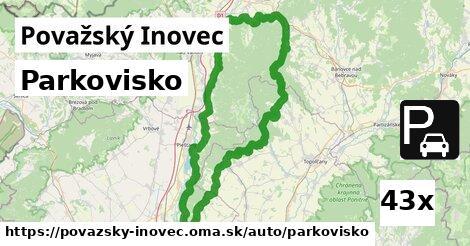ilustračný obrázok k Parkovisko, Považský Inovec