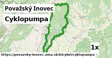 ilustračný obrázok k Cyklopumpa, Považský Inovec