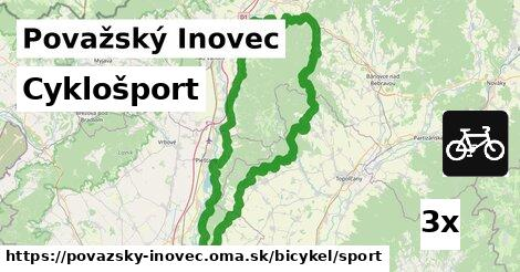 ilustračný obrázok k Cyklošport, Považský Inovec