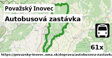 ilustračný obrázok k Autobusová zastávka, Považský Inovec