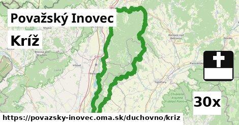 ilustračný obrázok k Kríž, Považský Inovec