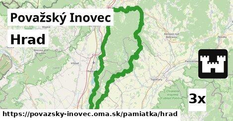ilustračný obrázok k Hrad, Považský Inovec