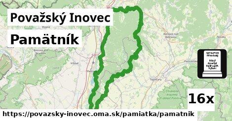 ilustračný obrázok k Pamätník, Považský Inovec