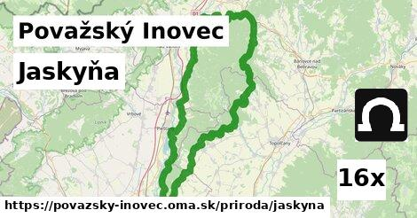 ilustračný obrázok k Jaskyňa, Považský Inovec