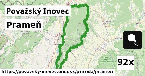 ilustračný obrázok k Prameň, Považský Inovec