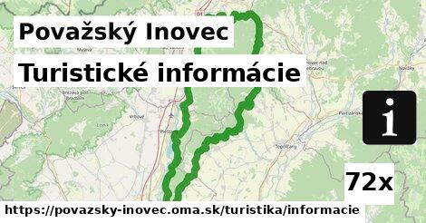 ilustračný obrázok k Turistické informácie, Považský Inovec