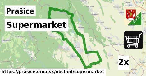supermarket v Prašice