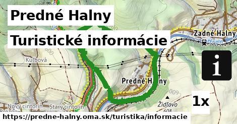 turistické informácie v Predné Halny