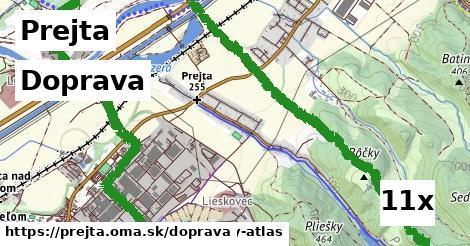 doprava v Prejta