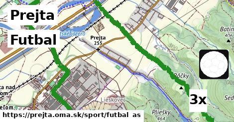 futbal v Prejta