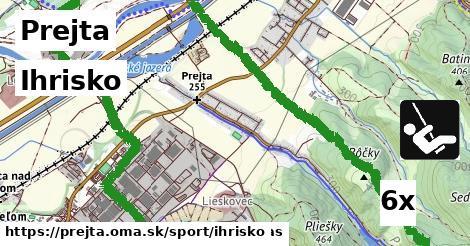 ihrisko v Prejta