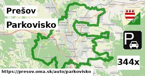 Parkovisko, Prešov