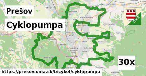 Cyklopumpa, Prešov