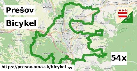 bicykel v Prešov