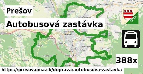 ilustračný obrázok k Autobusová zastávka, Prešov