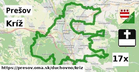 kríž v Prešov