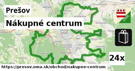 Nákupné centrum, Prešov