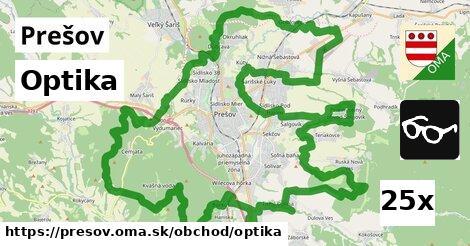 Optika, Prešov