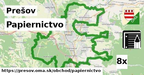 Papiernictvo, Prešov