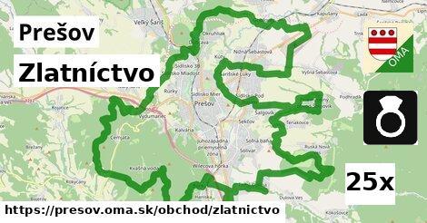 Zlatníctvo, Prešov