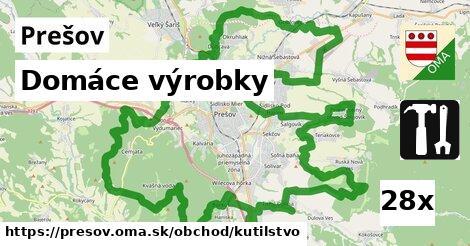 domáce výrobky v Prešov